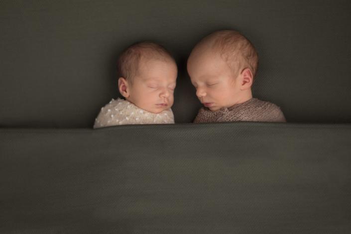 Newborn shoot twins, Kapellen, België